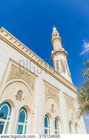 November 2019. Dubai Uae. The Mosque Umm Suqeim 2 In Dubai Uae