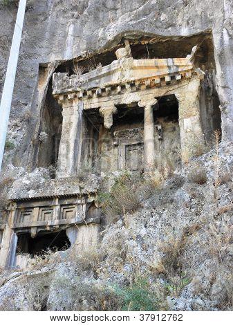 Lycian rock tombs from Telmessos