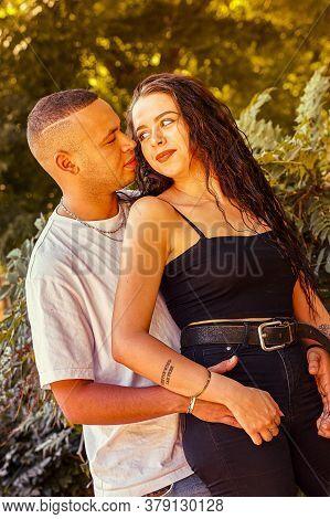 Love Couple Portrait In Nature 3