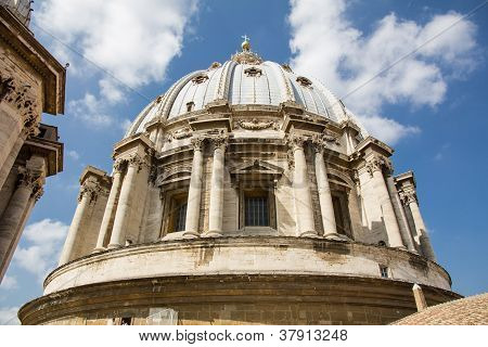 A Dome Of The St. Peter's Basilica