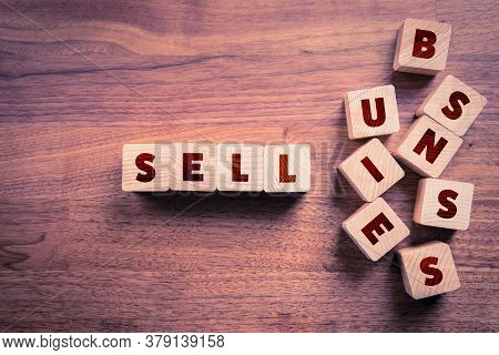 Sell Business (exit Strategy) Concept. Post Covid-19 Era Is Opportunity For Investors To Buy Cheap C