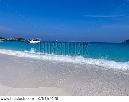 Amazing Beach On The Andaman Sea Thailand