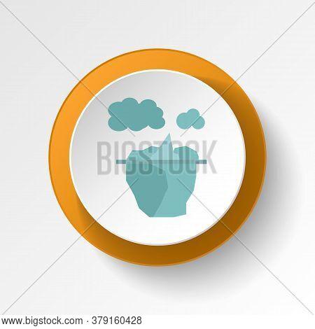 Iceberg Color Icon. Elements Of Winter Wonderland Multi Colored Icons. Premium Quality Graphic Desig