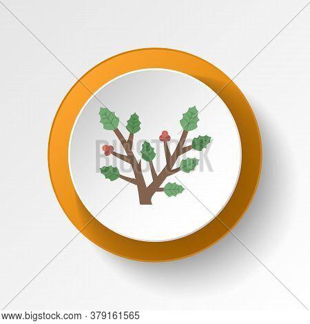 Branches Color Icon. Elements Of Winter Wonderland Multi Colored Icons. Premium Quality Graphic Desi