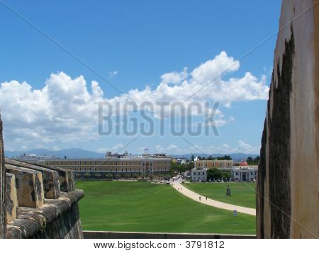Old San Juan From El Morro