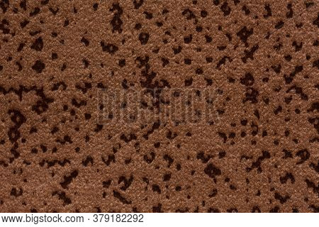 Mottled Usual Brown Fabric Texture. High Quality Texture In Extremely High Resolution.