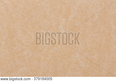 Abstract Brown Background Paper Or Parchment With Soft Texture Or Tan Cream Colored.