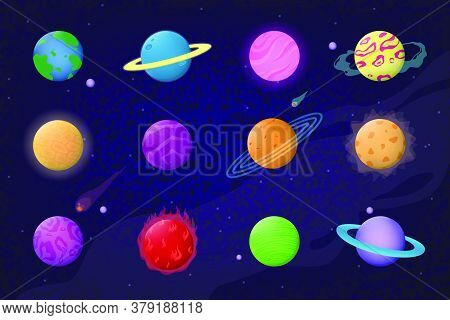 Space And Planets Set