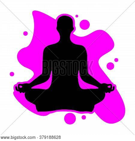 Meditate Yoga Icon, Meditate Yoga Icon Eps10, Meditate Yoga Icon Vector, Meditate Yoga Icon Eps, Med