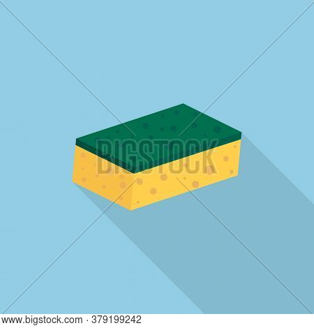 Scouring Pads Spong For Housework Cleaning. Vector Illustration.