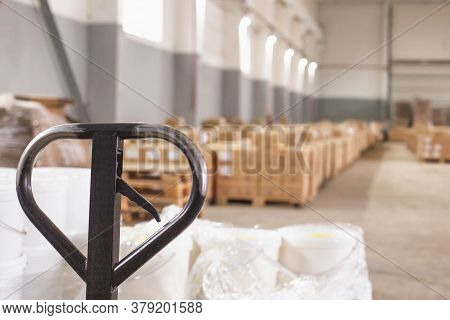 A Modern Production Warehouse For Storage, Warehousing And Stock Concentration. Provision Of Logisti
