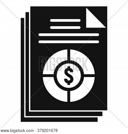 Conversion Rate Icon. Simple Illustration Of Conversion Rate Vector Icon For Web Design Isolated On