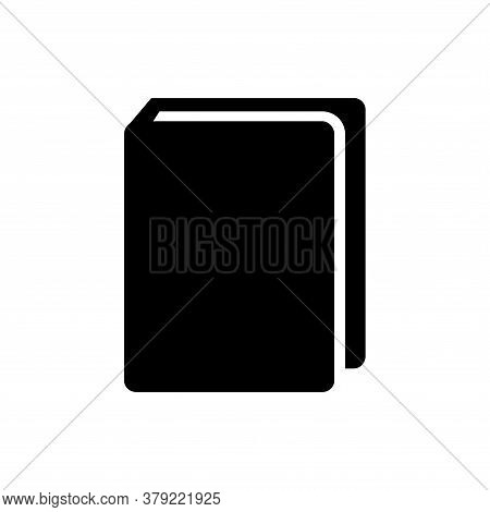 Book Icon Isolated On White Backgroud, Book Icon Vektor Design Concept , Book Vector Icon Modern And