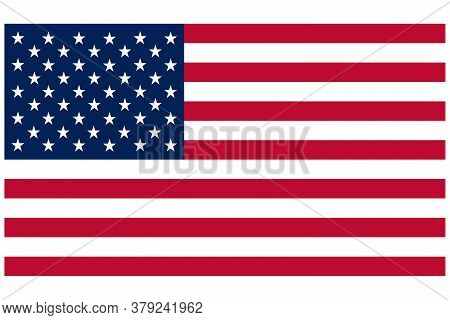 Standard Accurate Size American Flag Red White And Blue Stars And Stripes Patriotic Symbol Graphic P