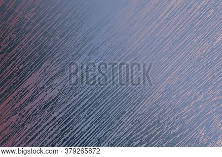 Distress Blue Urban Used Texture. Brushed Paint Cover. Empty Aging Design Element. Grunge Rough Dirt