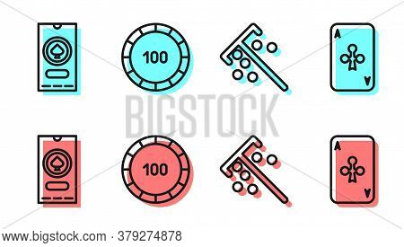 Set Line Stick For Chips, Casino Poker Tournament Invitation, Casino Chips And Playing Card With Clu