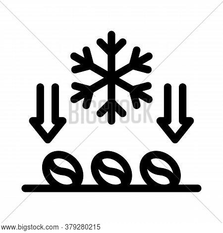 Coffee Grinder Mechanism Icon Vector. Coffee Grinder Mechanism Sign. Isolated Contour Symbol Illustr