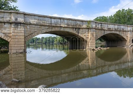 The Monocacy Aqueduct -- Or C&o Canal Aqueduct No. 2 -- Is The Largest Aqueduct On The Chesapeake An