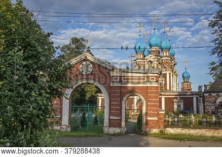 Church Of Our Lady Of Kazan In Ustyuzhna, Vologda Region, Russia