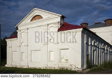Ustyuzhna, Vologda Region, Russia - 27 July 2020, - 27 July 2020, Ustyuzhna. Church Of The Ascension