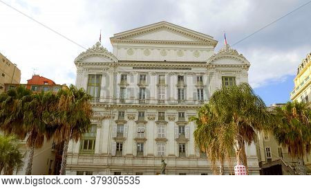 Opera Of Nice At The Cote D Azur - Nice, France - July 10, 2020