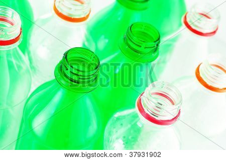 Water Bottles Isolated