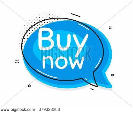 Buy Now. Thought Chat Bubble. Special Offer Price Sign. Advertising Discounts Symbol. Speech Bubble