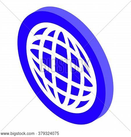 Global Remote Access Icon. Isometric Of Global Remote Access Vector Icon For Web Design Isolated On
