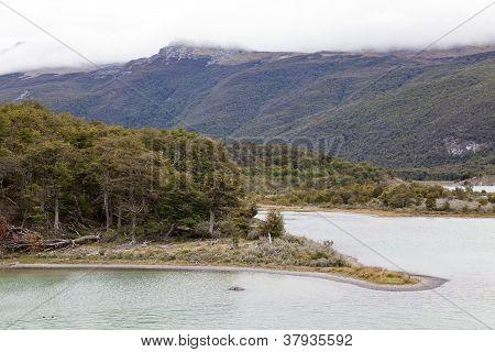 Tierra Del Fuego National Park Landscape