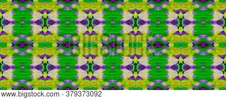 Geo Portugese Ikat Rapport. Watercolor Ethnic Design. Summer Mosaic Background. Vibrant Geometric Sw