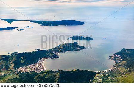 Aerial View Of Mangaratiba, A City In The Brazilian State Of Rio De Janeiro