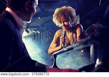 Photo of Jazz Singer and Pianist