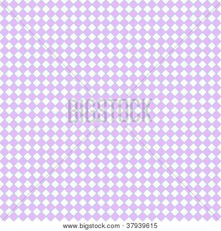 Seamless Pastel Diagonal Checks
