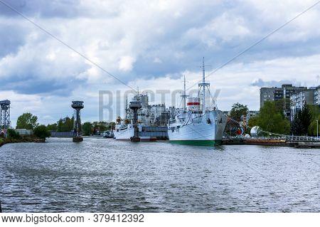 Museum Flotilla, Museum Of The World Ocean In Kaliningrad, Ships Museum Exhibits, Kaliningrad, Russi