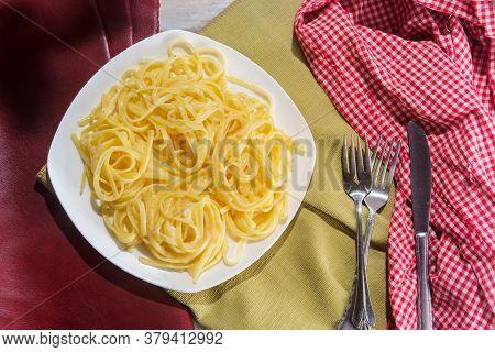 Italian Fettuccine Alfredo Dinner