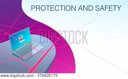 Personal Computer Protection And Security Of Personal Information. Antivirus Programs And Services.
