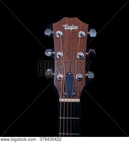 Cumming, Georgia - May 26, 2020: Taylor Guitars Is An American Guitar Manufacturer Specializing In A