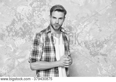 Barber Salon. Barbershop Hairdresser. Skin Care Routine. Fashion Model. Cool Man. Stylish Man. Alway