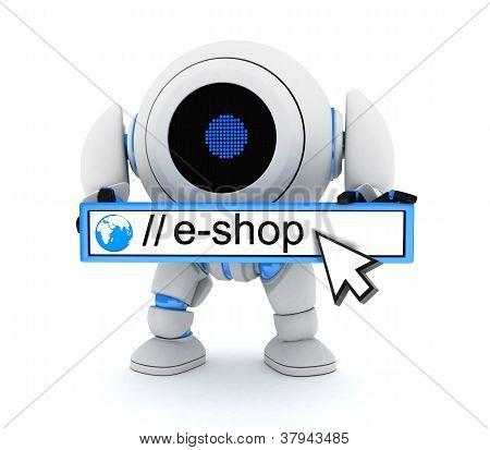Robot And E-shop
