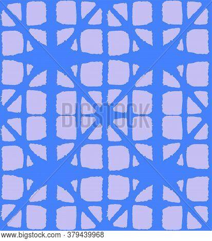 Japanese Tie Dye Seamless Pattern. Retro Shibori Seamless Pattern. Deco Curve Arc Design Glamour Kim