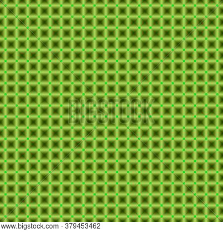 Green Diamond Shaped Textile Pattern And Tiles Design, Pattern, Textile Pattern, Seamless Abstract H