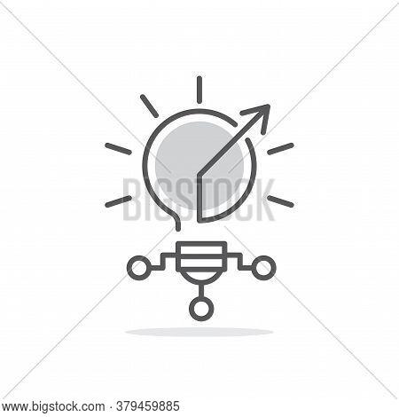 Innovation, Innovative Line Icon Illustration Vector Symbol