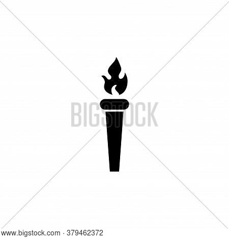 Illustration Vector Graphic Of Torch Icon Template