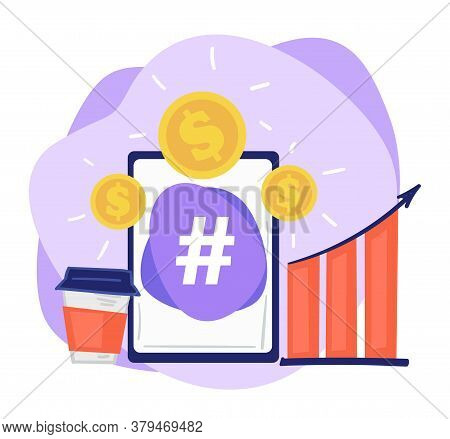 Increasing Sales By Using Social Media Channels And Hashtags