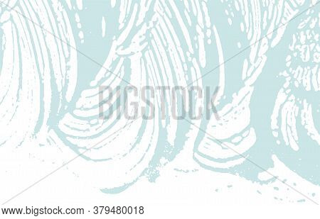 Grunge Texture. Distress Blue Rough Trace. Bold Background. Noise Dirty Grunge Texture. Outstanding