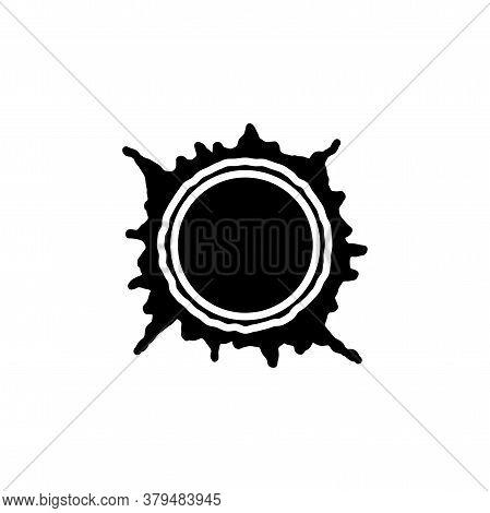 Sun, Star Flare Icon Vector Simple Sign