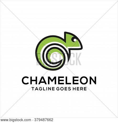 Chameleon Logo Icon Designs, Chameleon Logo Design Inspiration