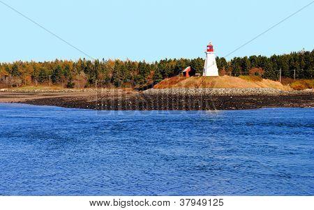 Mulholland Lighthouse, New Brunswick, Canada