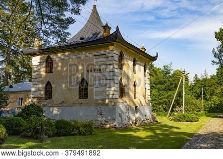 Chinese House - Ice-house In  Palace And Park Ensemble In Village Samchyky In Classicism Empire. Khm