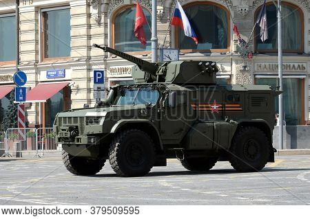 Moscow, Russia - June 20, 2020:multi-purpose Armored Car